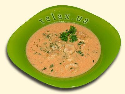 tomato puree soup