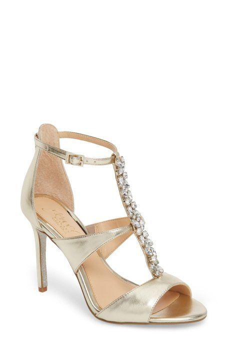 cd92825f8bd Jewel Badgley Mischka - Mica Crystal Embellished Strappy Sandal (Women)
