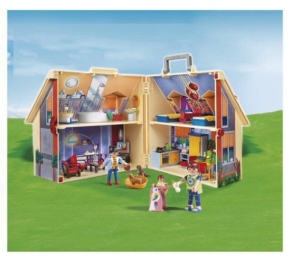 Buy Playmobil Take Along Dolls House - 5167 at Argos.co.uk, visit Argos.co.uk to shop online for Dolls houses, Dolls and playsets, Toys