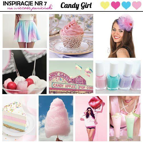 pomysły na wieczór panieński candy girl