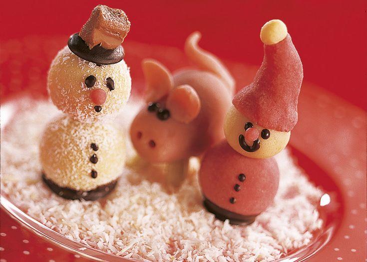 NissejulRead More, Jul Og, Christmas Time, Marcipan Figures, Med Marcipan, Oden Marcipan, 13- Jul, Fantasifuld Juleopskrift, Konfekt Og