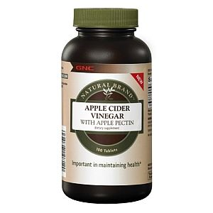 Have to see if this works... Pinner Said: I give this to my dog once a day to help with his allergies.  It has kept him from scratching constantly and he doesn't get yeast infections in his ears anymore!  GNC Natural Brand™ Apple Cider Vinegar with Apple Pectin - GNC NATURAL BRAND - GNC