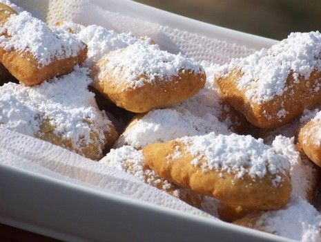 How to make beignets without yeast as leavening agent