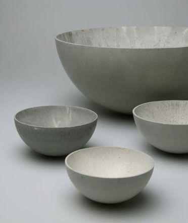 Concrete Bowls - Stephan Schultz