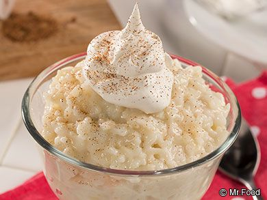 Rice pudding is one of those comfort foods that just soothes the soul. This recipe for Classic Rice Pudding takes this down-home dessert back-to-basics with it's light vanilla flavor and creamy taste.