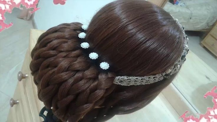 Ver en el video nuevo peinados recogidos faciles para cabello largo bonitos y…