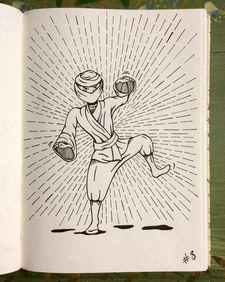 #inktober Day 8 - Ninja