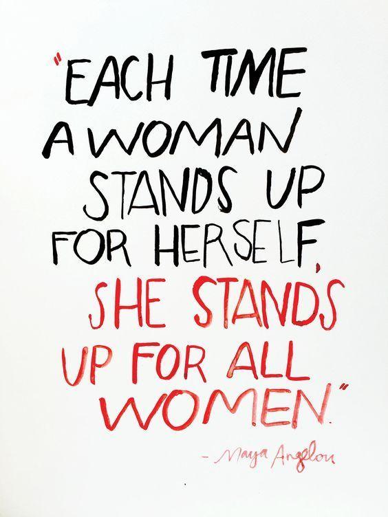 Maya Angelou Feminist Quotes - women empowerment quotes