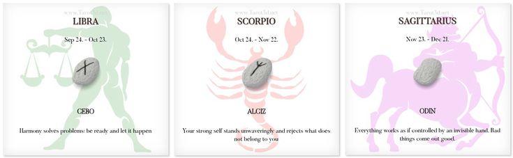 Daily Runescope 1/24/2018 https://www.tarot3d.net/tagesrune/en/horoscope  #Horoscope #Zodiac #libra #scorpio #sagittarius