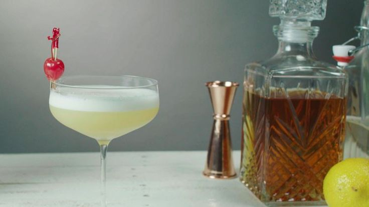 The Whiskey Sour Recipe is a Simple Drink With So Many Options