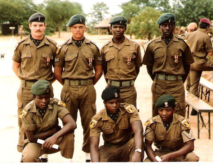 116 Bn Pro Patria recepients 1985