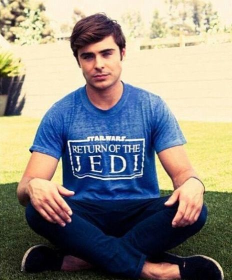 Even Zac understands that the world of Star Wars is the only way!