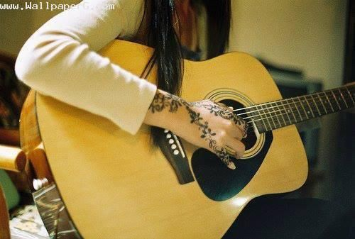 224 Best Images About Girls With Guitars On Pinterest: Girl Playing Guitar