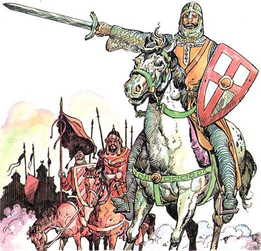Imagen relacionada con el Cantar del Mío Cid