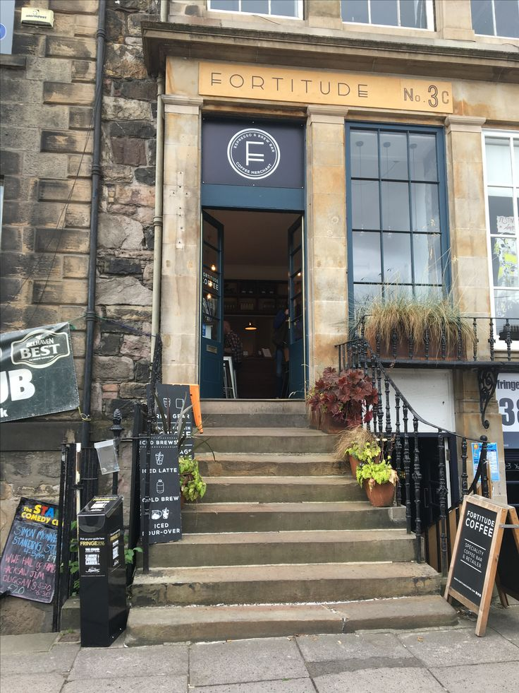 Fortitude - Edinburgh Excellent coffee !