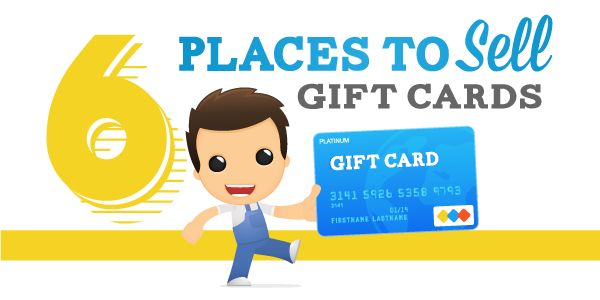 Six Places to Sell Gift Cards Online