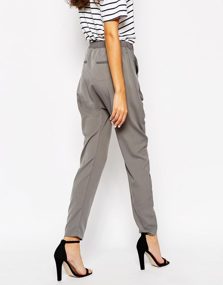 Image 2 of Vero Moda Tall Casual Hareem Trousers