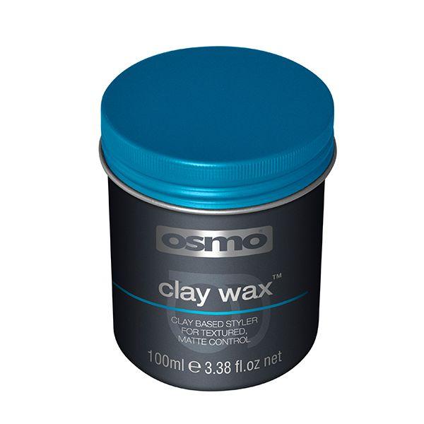 Osmo Clay vax baserad på lera för en naturlig frisyr med matt kontrollerad resultat. Osmo clay ger en perfekt vild och rufsig look.