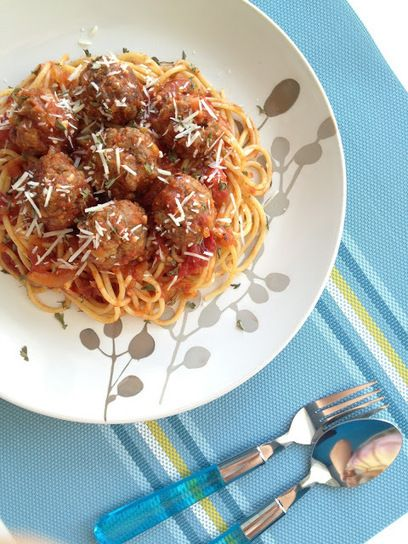 #RECIPE - Spaghetti and Meatballs