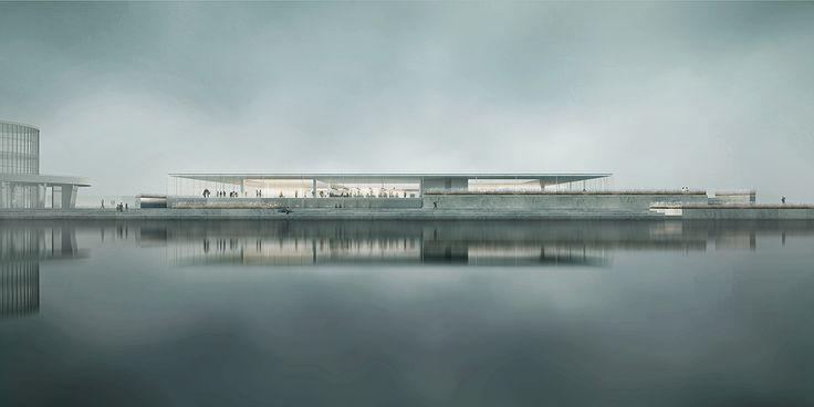 NEW AQUARIUM IN GDYNIA CONCEPT, project: mikolai adamus render:Igor Brozyna