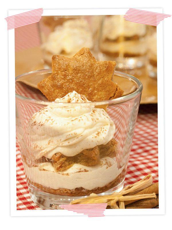 Rezept für Honigkuchen-Tiramisu - ein schnelles Dessert für Weihnachten