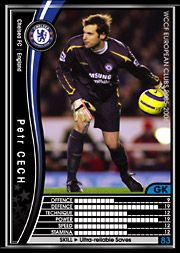 trading cards PANINI WCCF European clubs sets
