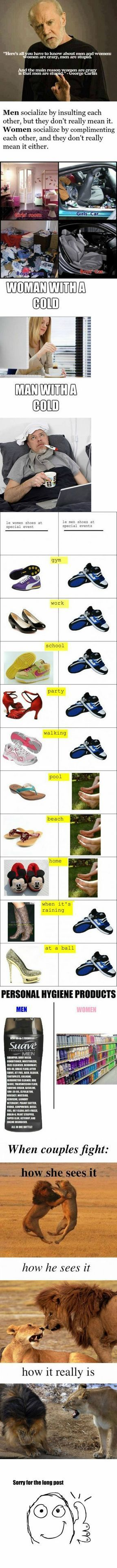 Difference Between Men And Women - very funny