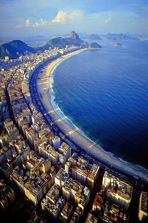 Copacabana Beach - Rio de Janeiro