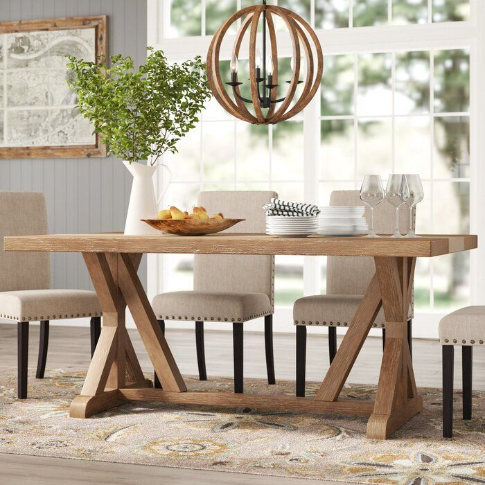 Oshea Dining Table With Images Dining Table Solid Wood Dining