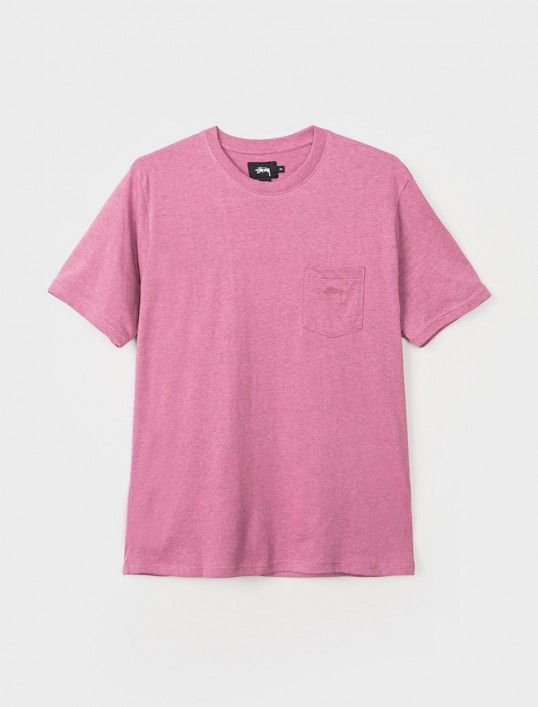 Heather O'Dyed S/S Pocket Tee