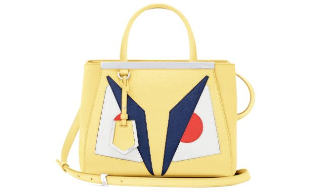 The super cute Fendi Bag Bugs are invading luxury online store Net-A-Porter.com on November 20, 2013, with an exclusive Bag Bug Petit 2Jour in yellow available online on the website.