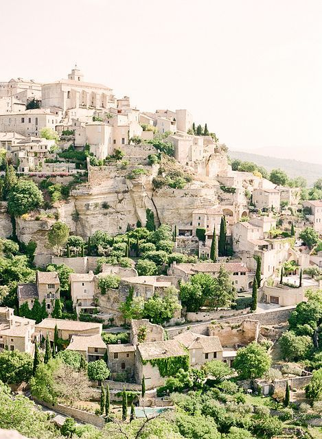 Luberon Valley, France, definitely on my travel list.
