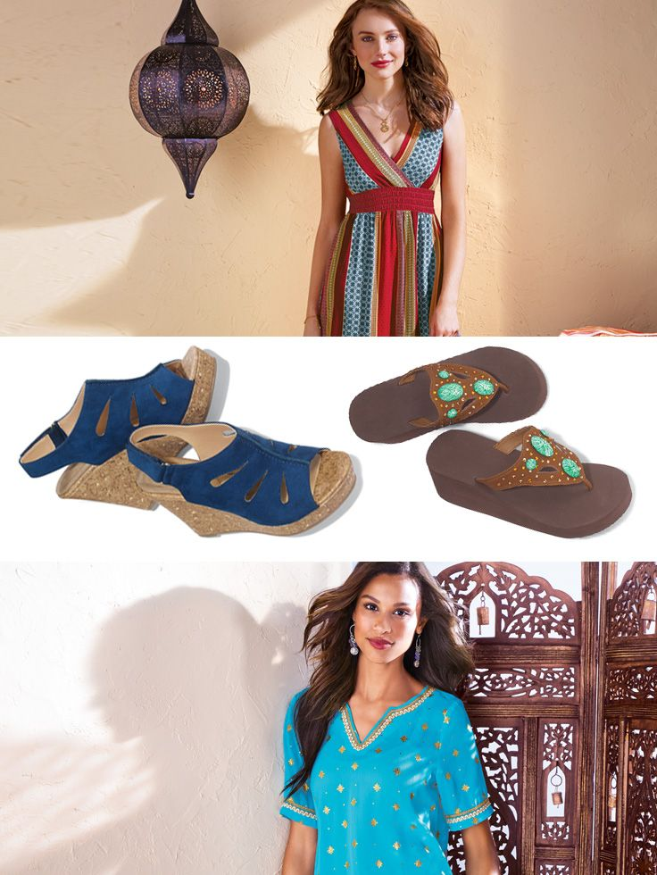 Inspire your customers to mix it up with exotic fashion and transitional must-haves!