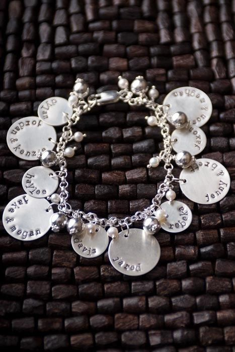 0e28ca200 Grandma Bracelet with Children and Grandchildren Charms, Gifts for Grandma, Mothers  Bracelet, Mothers Day Gifts, Mother Charm Bracelets | Christmas ideas ...