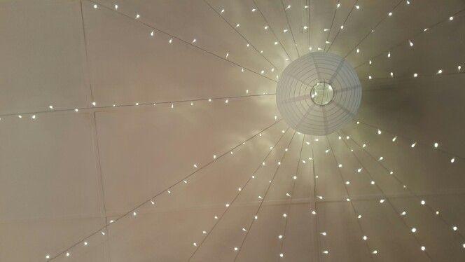 Fairy Lights on Roof