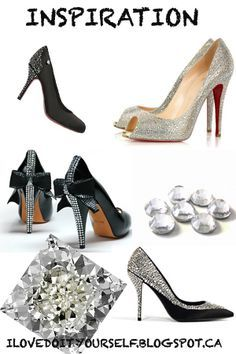 i love do it yourself:  DIY strass high heels !