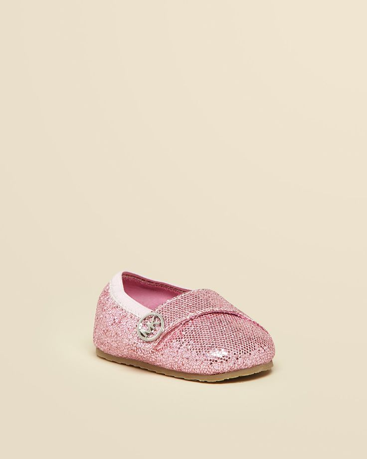 Michael Kors Infant Girls Grace Glitter Flats