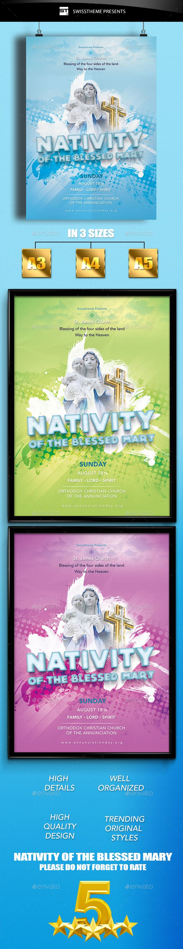 17 best images about church flyer designs flyer nativity of the blessed mary flyer church flyer designschurch