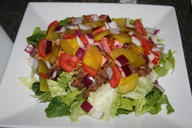 Cheeseburger Salad | Favorite recipes | Pinterest