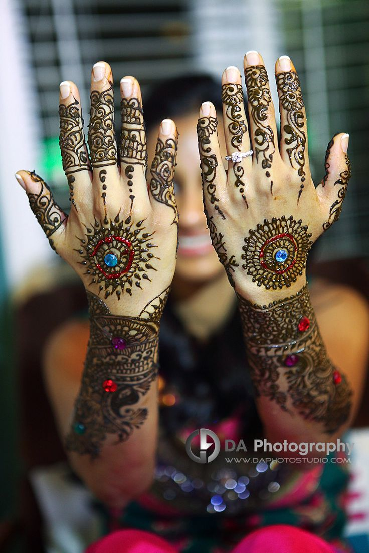 Henna on Sangeet Ladies Night - DA Photography