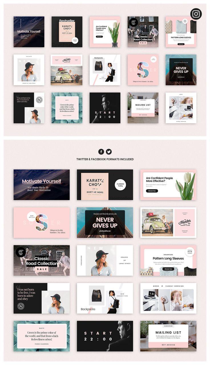 Social Media Booster Kit 4 by PixelBuddha on @creativemarket