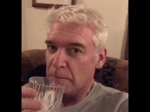 Phillip Schofield gets merry drinking gin in hilarious clip: 'I love you'