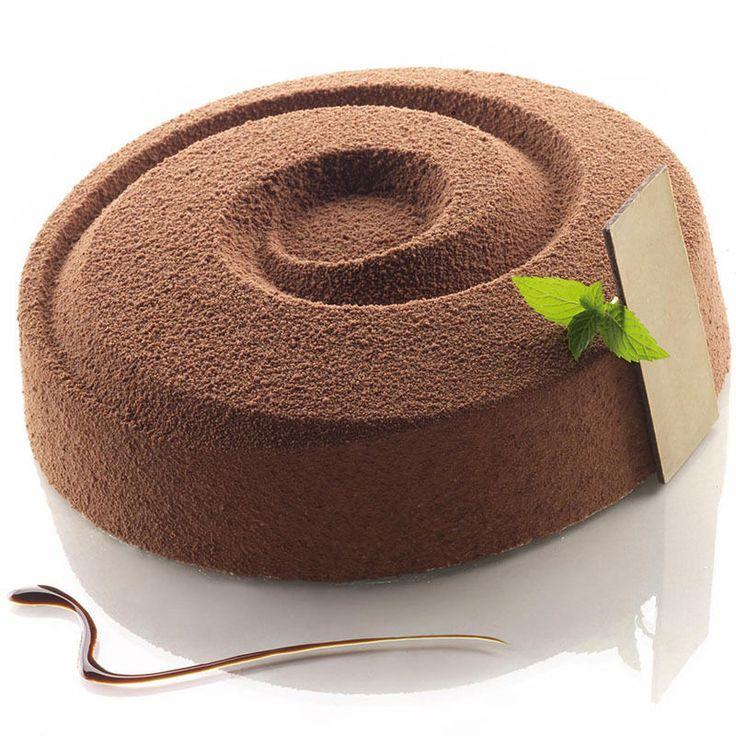 Vortex Spiral Round Shaped Silicone Baking And Freezing