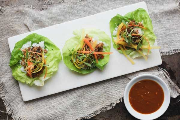 Asian Lettuce Wraps - Oh My Veggies