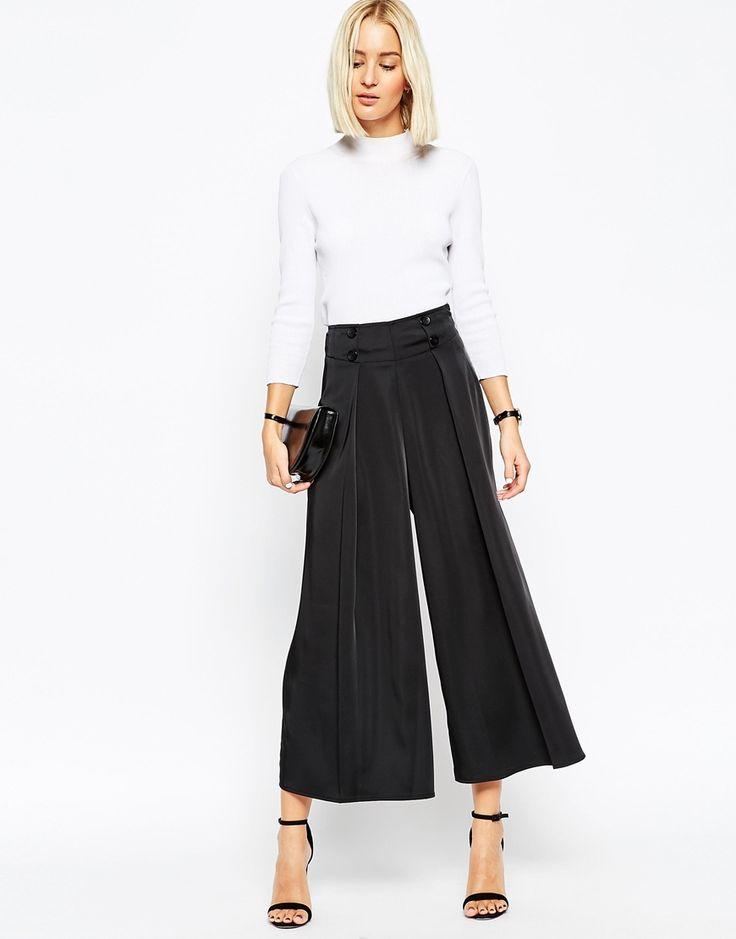 Préférence Oltre 25 fantastiche idee su Pantaloni palazzo su Pinterest | Moda  CK59