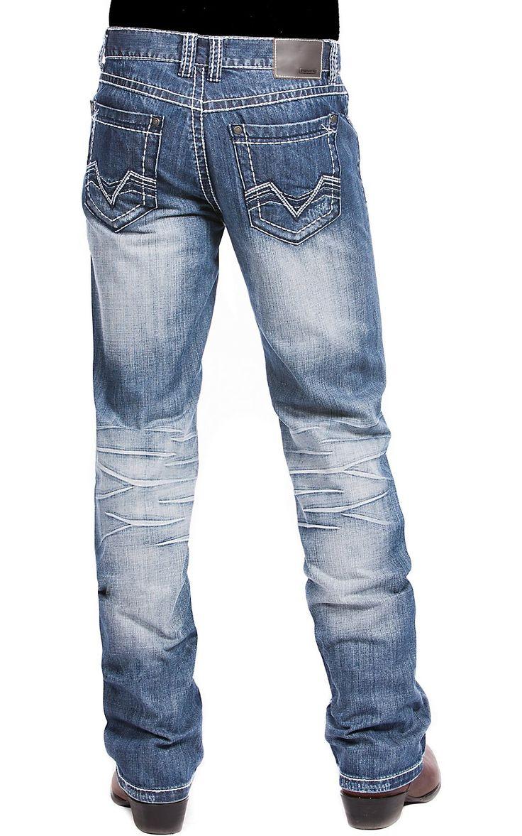 Wrangler Rock 47 >> Petrol Men's Maverick Straight Leg Jean | Men's Apparel & Jeans | Pinterest | Pants, Legs and ...