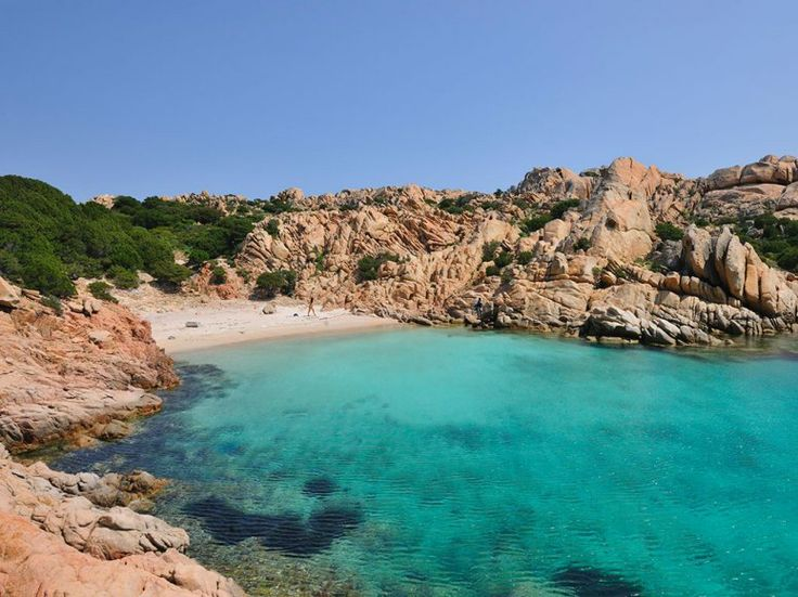 CAPRERA ISLAND Sardinia, Italy  The mostly uninhabited Sardinian island of Caprera is rich in deserted beaches with aquamarine waters.
