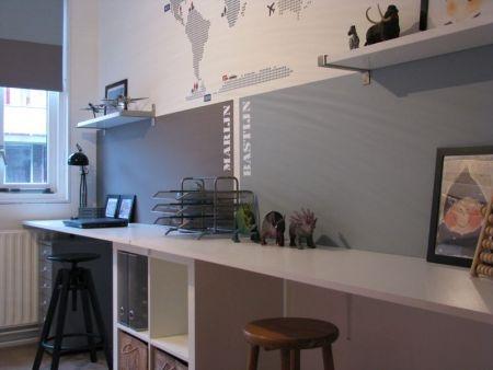 17 beste idee n over tiener slaapkamer op pinterest tiener slaapkamer indeling - Deco kamer volwassen blauw ...