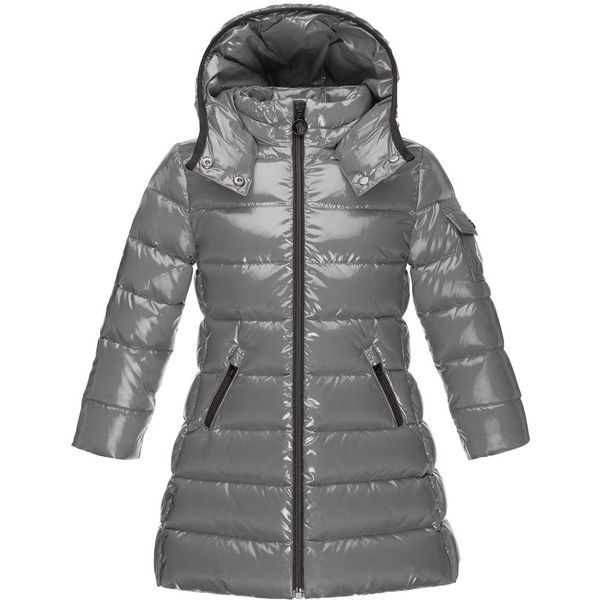 5d8b45a382cf Moncler Moka Down Puffer Coat (€400) ❤ liked on Polyvore featuring ...