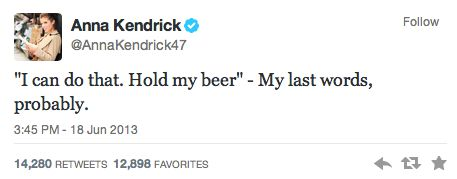 15 Hilarious Tweets from Anna Kendrick | Her Campus